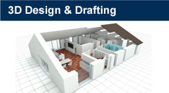 3D design & Drafting